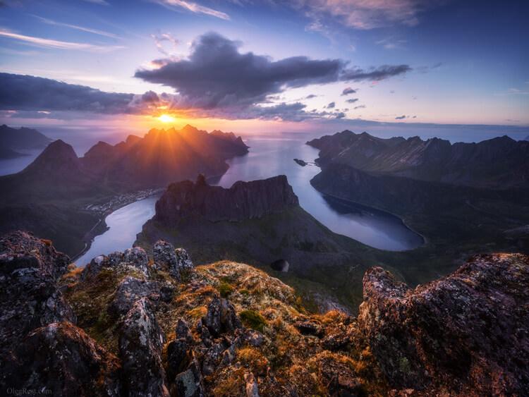 Oleg Rest Senja, Norway