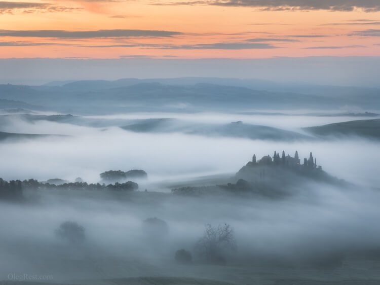 Mist Photography tour to Tuscany 2020 Oleg Rest