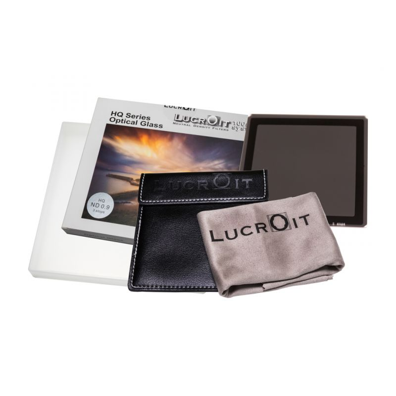 LucrOit HQ ND Filter 0.9 (3 stops) 100x100mm